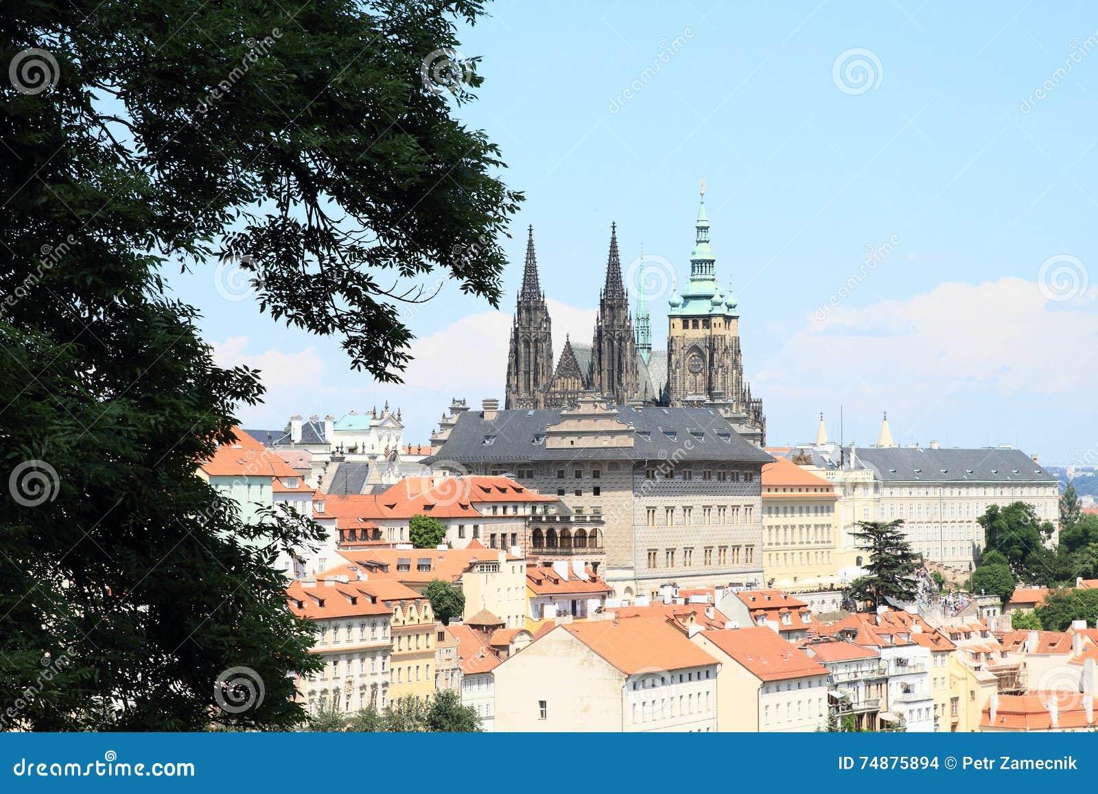 Vista em Praga