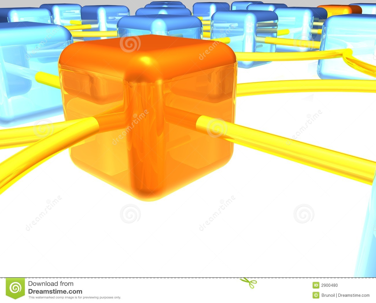 Vista geral da rede