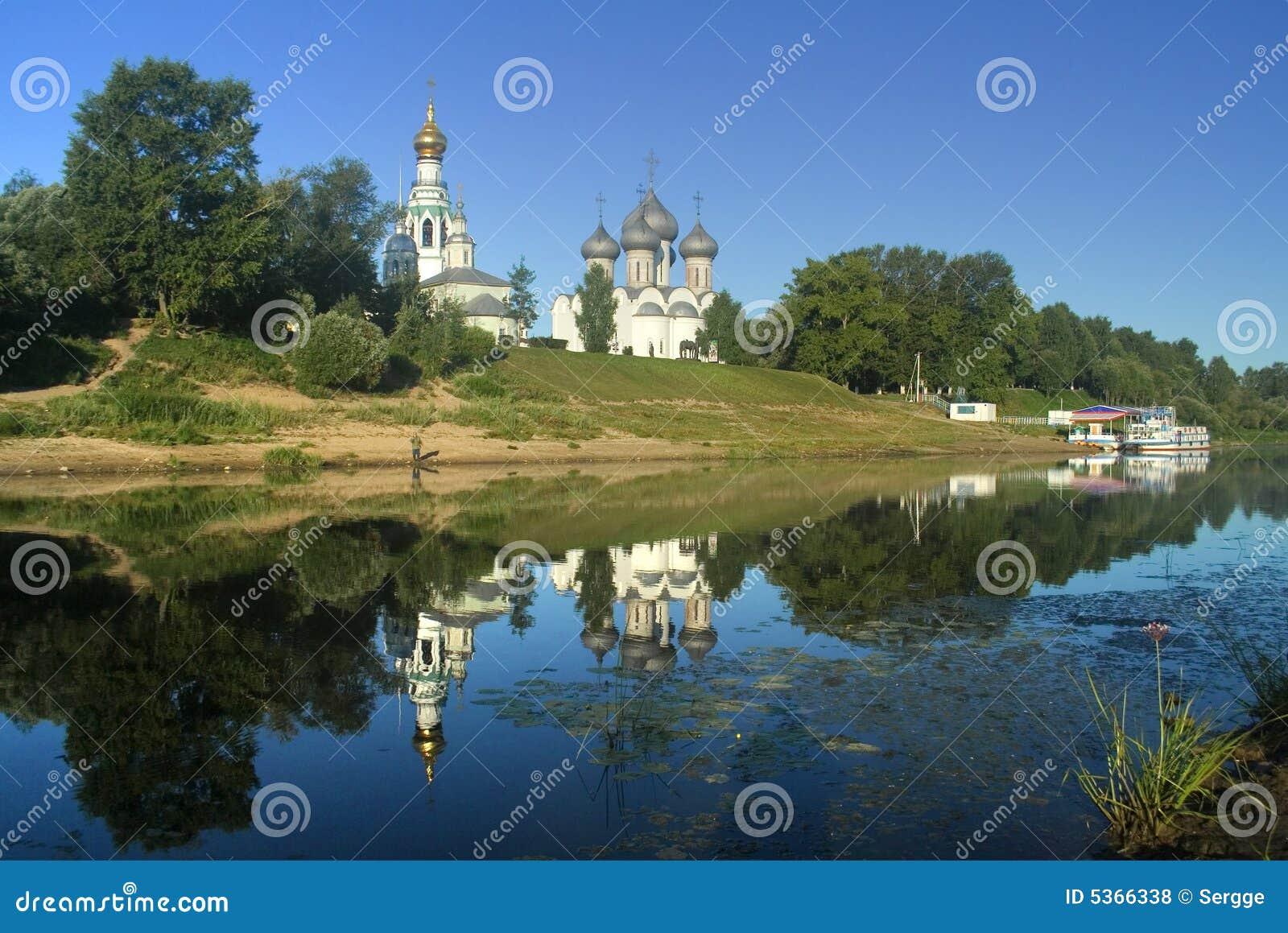 Vista hermosa de Vologda
