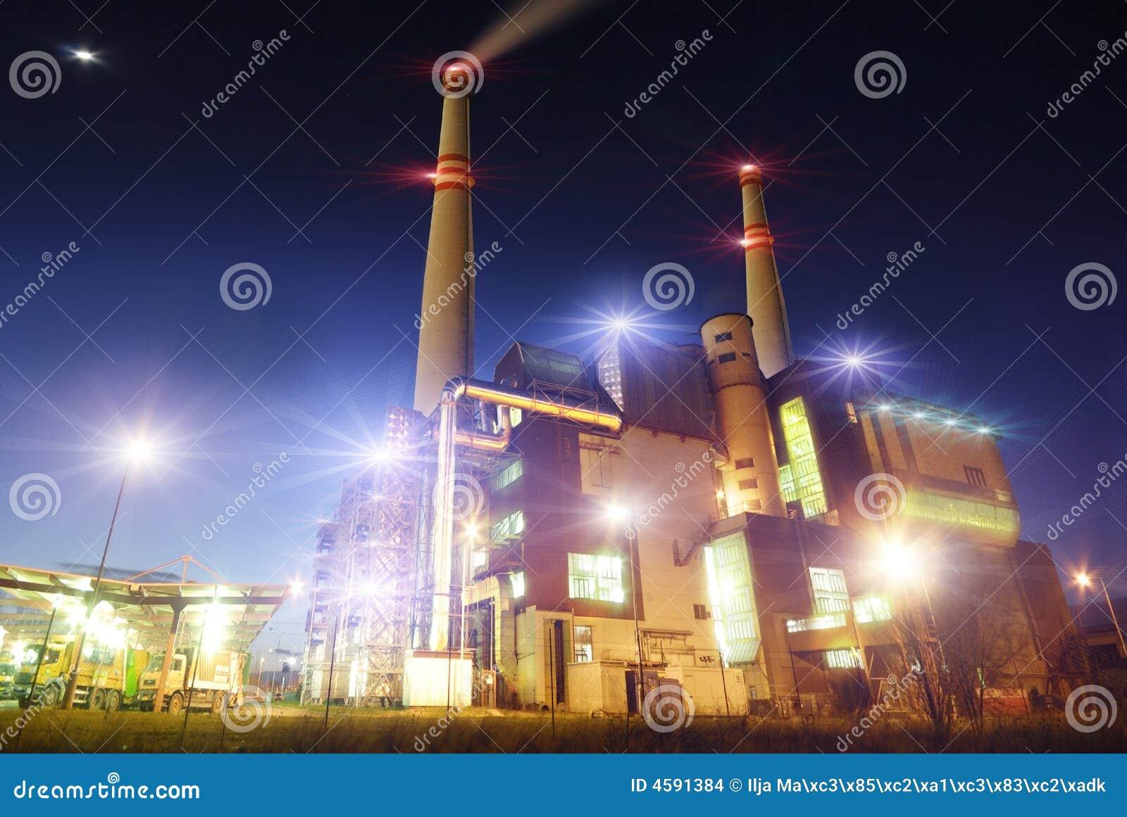 Vista industriale