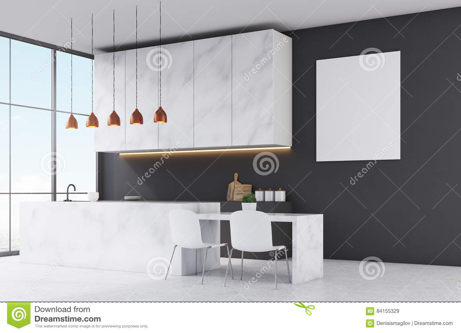 Gallery of cucine bianche e nero moderne cucina for Cucine bianche e nere