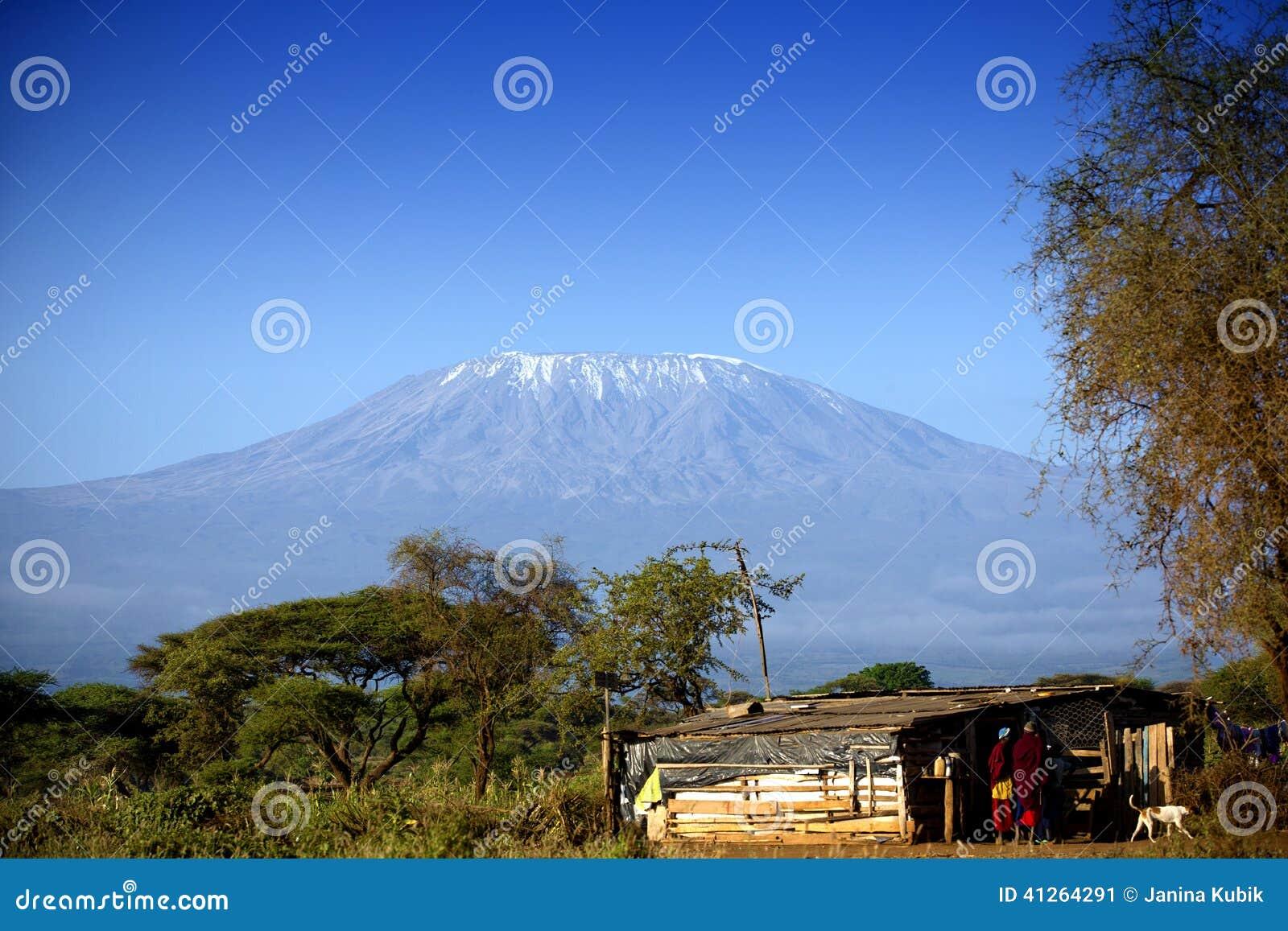 Vista no Monte Kilimanjaro