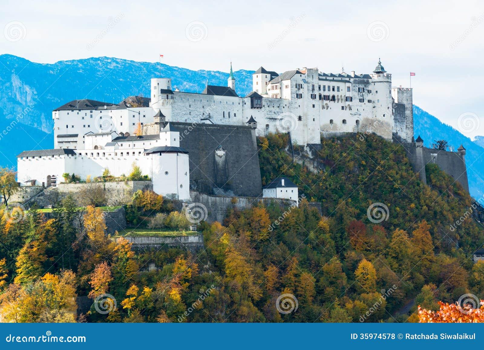 Vista panorámica de la ciudad histórica de Salzburg