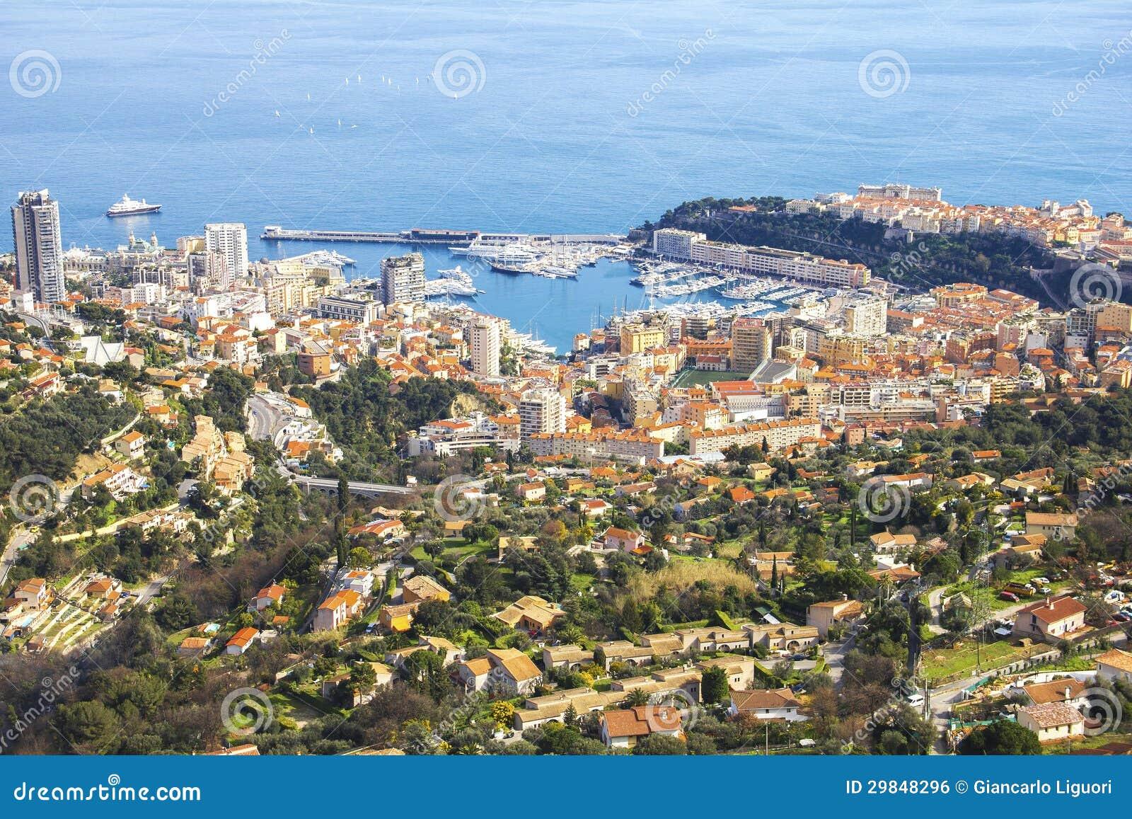 Vista aérea de Monaco