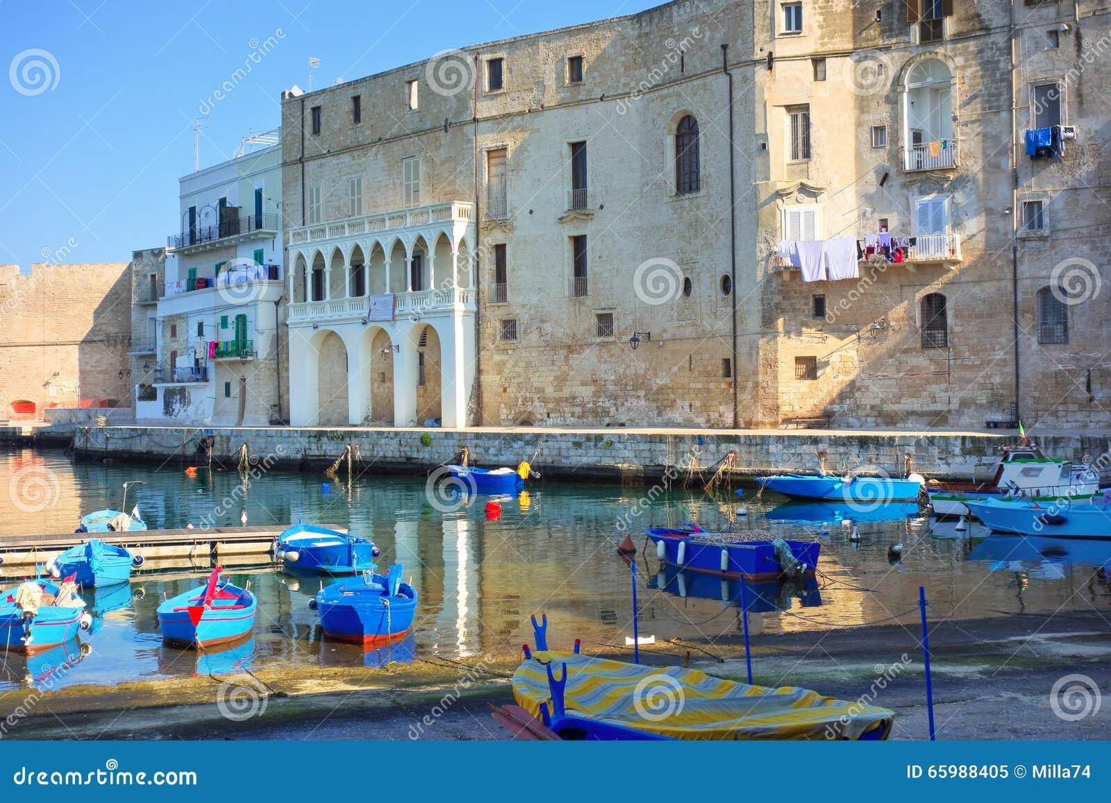 Vista panorâmico de Monopoli Puglia Italy