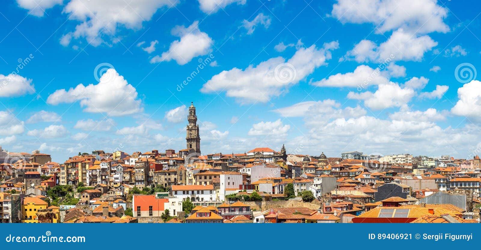 Vista panorâmico de Porto