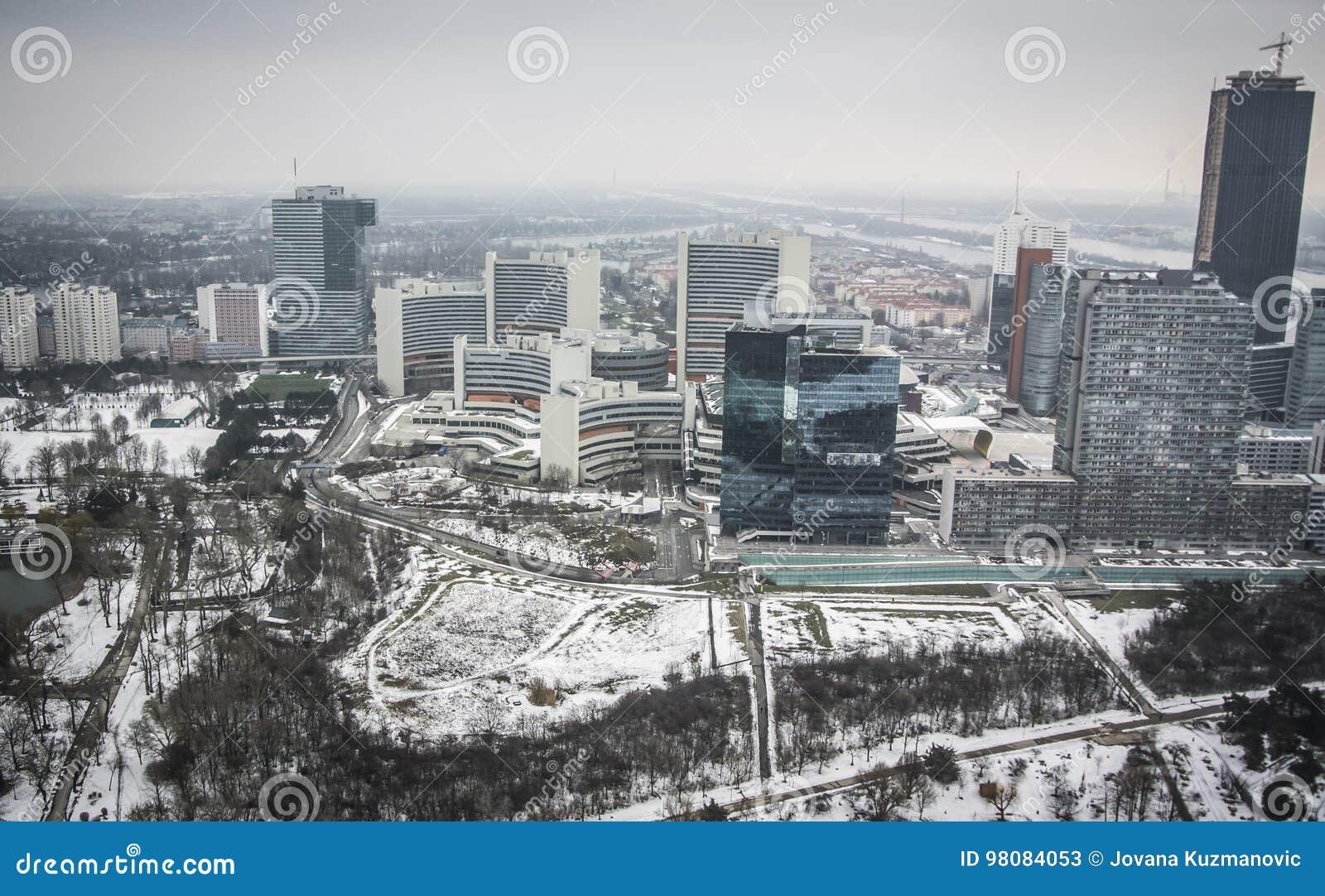 Vista panoramica di Vienna