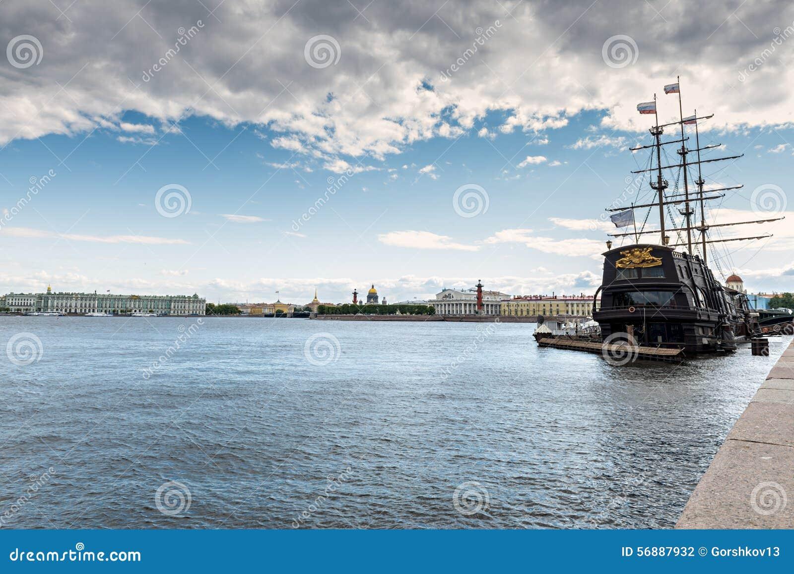 Vista panoramica sul centro storico di Sankt Pietroburgo
