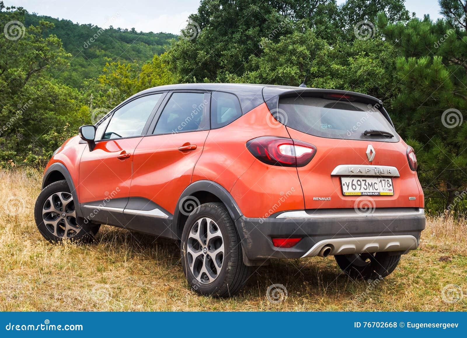 Vista posterior de Renault Kaptur