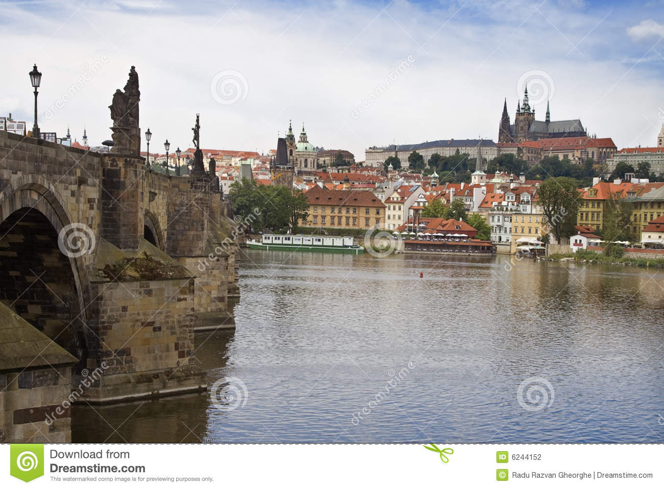 Vista of prague stock photography image 6244152 for Where is prague near