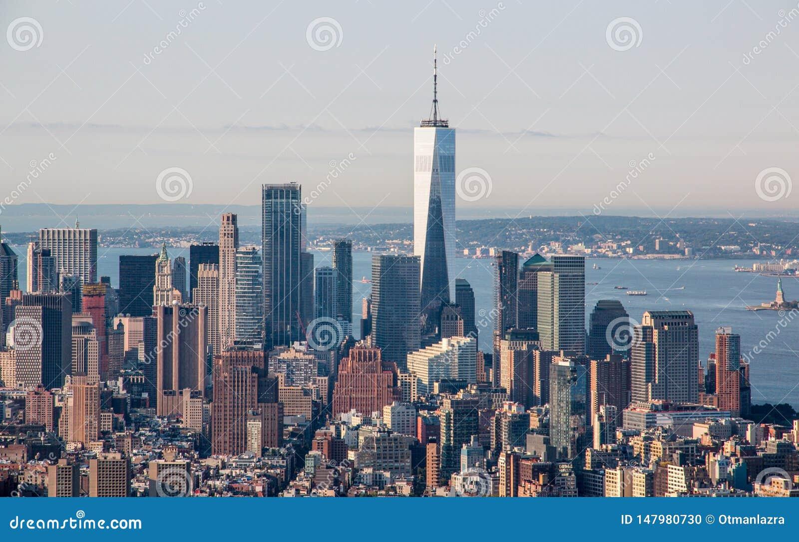Vista a?rea de New York City