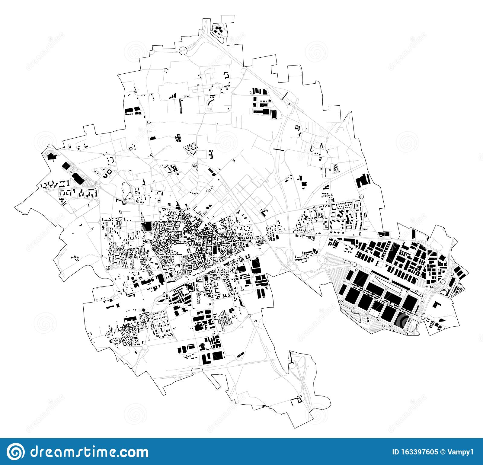 Cartina Satellitare Lombardia.Vista Satellitare Della Citta Di Rho Cartina E Strade Lombardia Milano Italia Illustrazione Vettoriale Illustrazione Di Posizione Cartografia 163397605