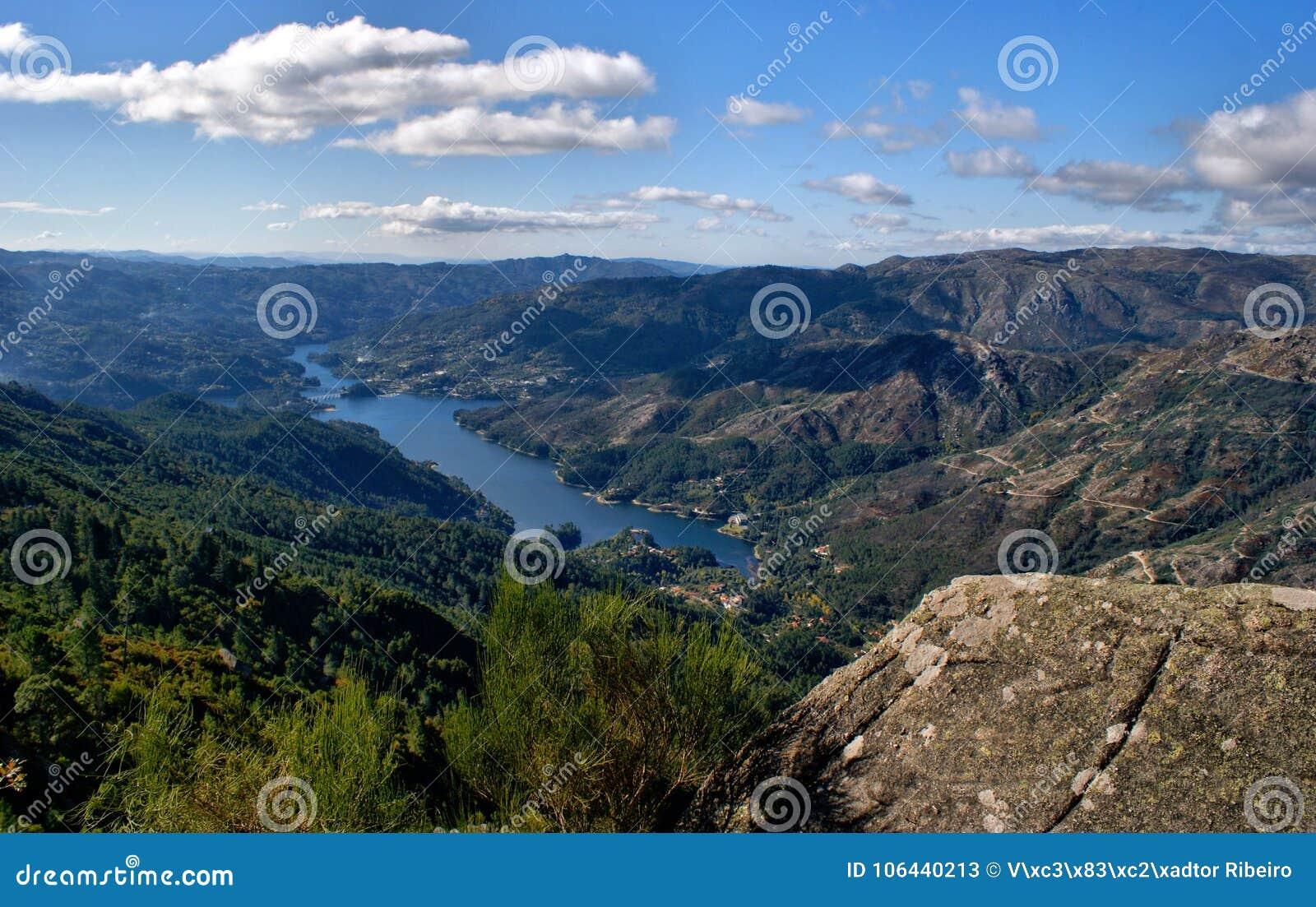 Vista scenica del parco nazionale di Peneda Geres