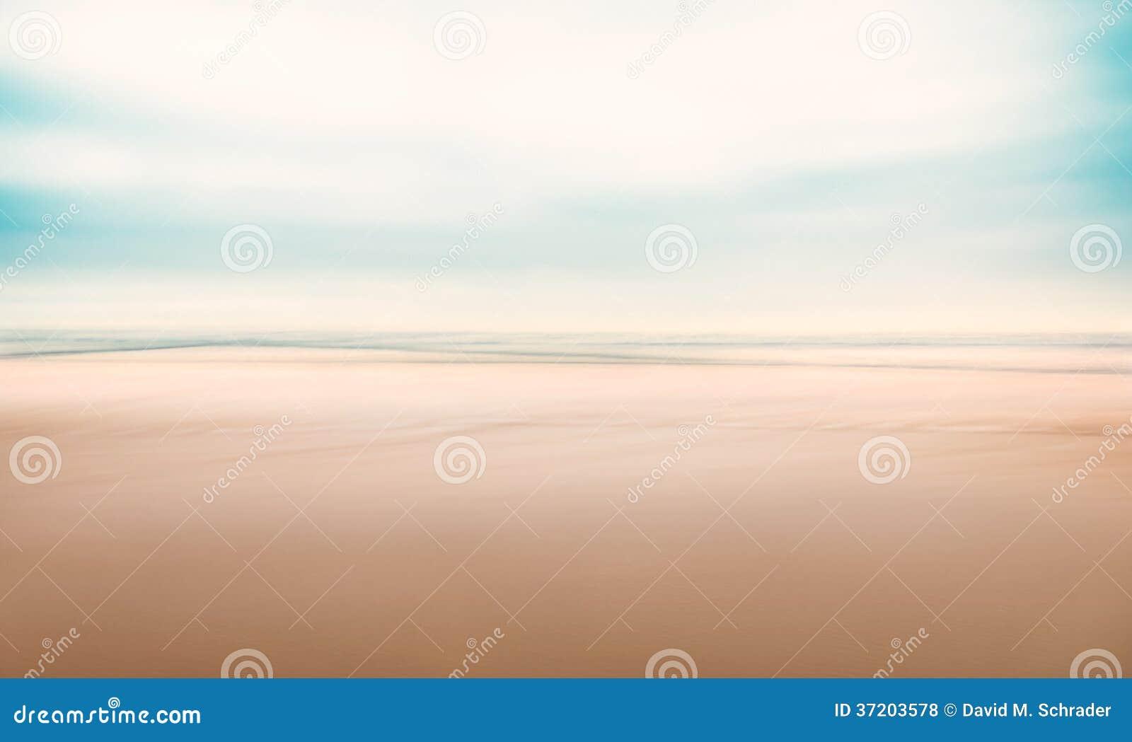 Vista sul mare astratta minimalista