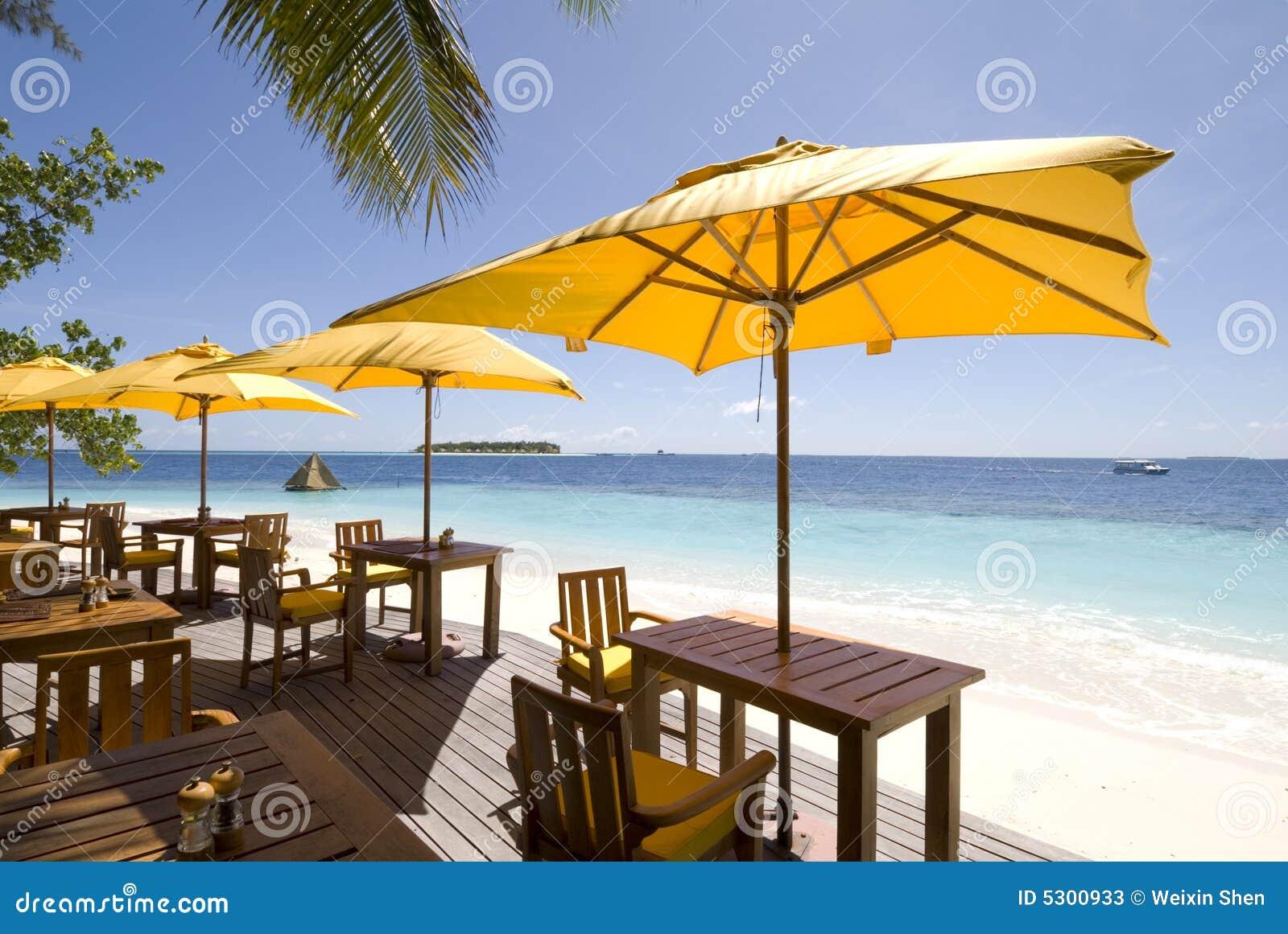 Download Vista Sul Mare Dei Maldives Immagine Stock - Immagine di orizzonte, presidenza: 5300933