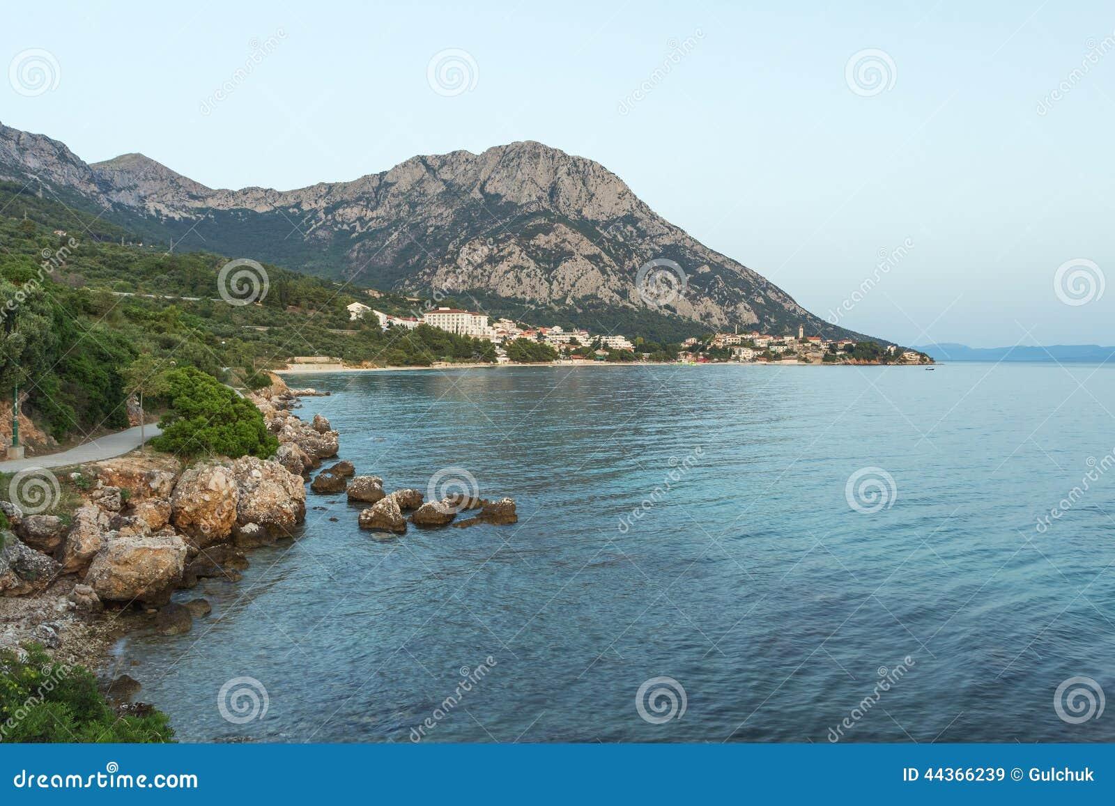 Vista sul mare MARE ADRIATICO La Croazia
