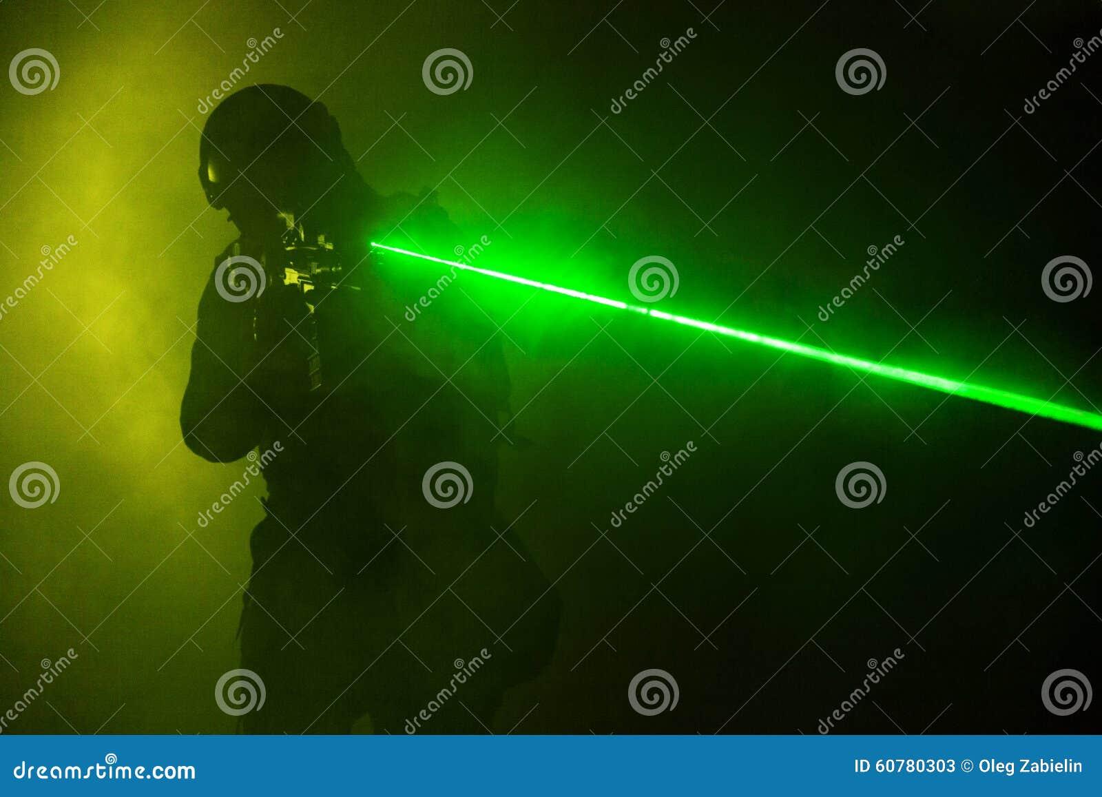 Vistas del laser
