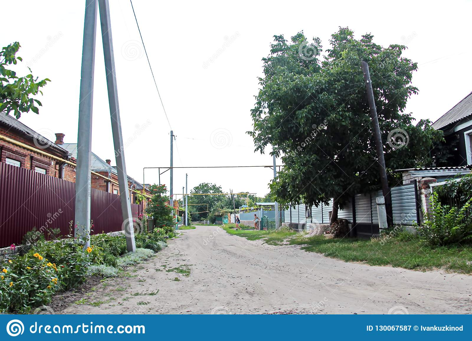 Viste del paesaggio della natura, dei campi, dei villaggi e delle strade dell Ucraina Vista dalla finestra di automobile quando g