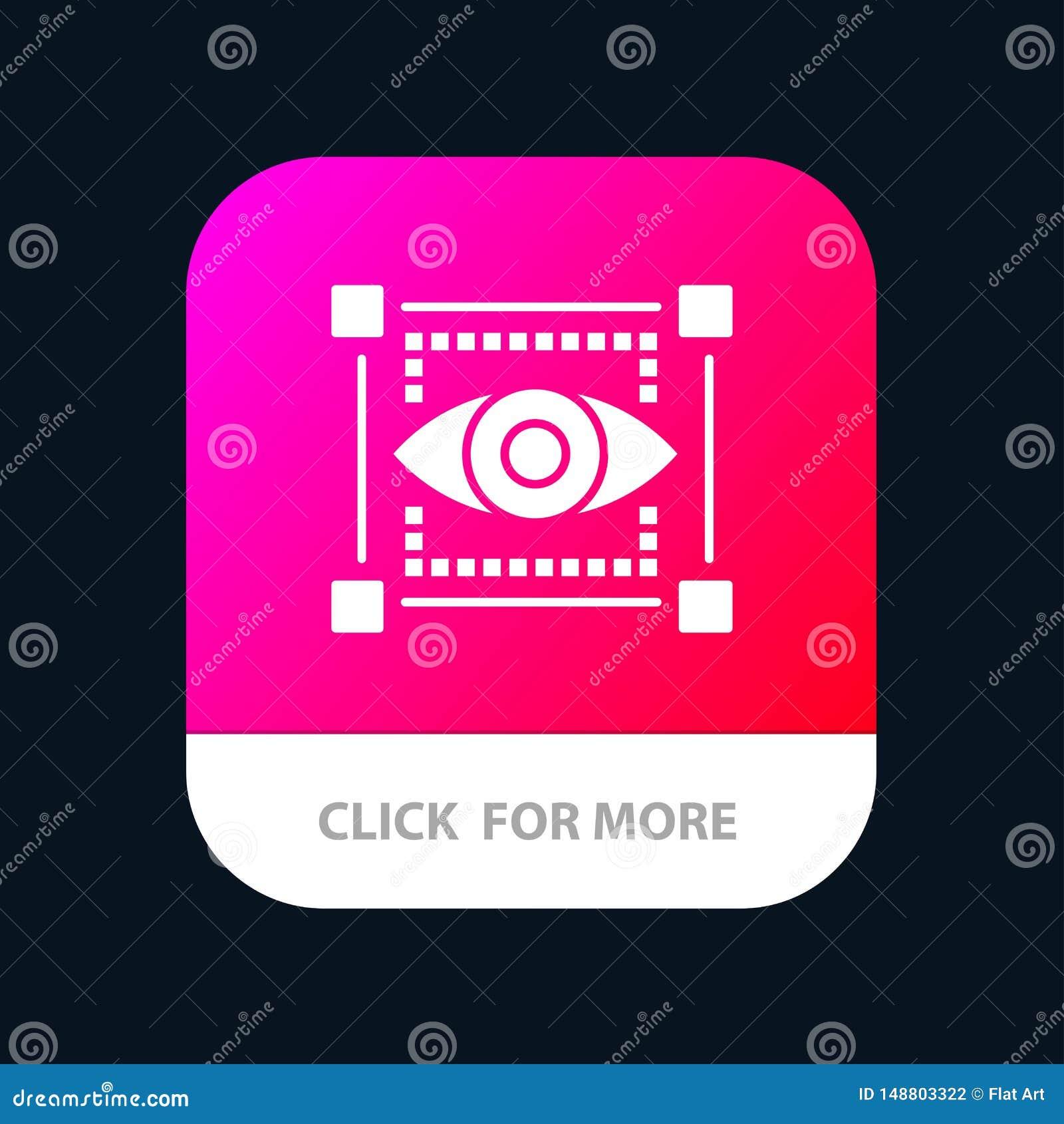 Visual, View, Sketching, Eye Mobile App Icon Design