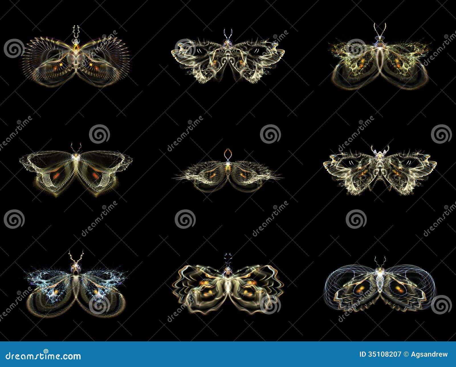 Visualisatie van Fractal Vlinders