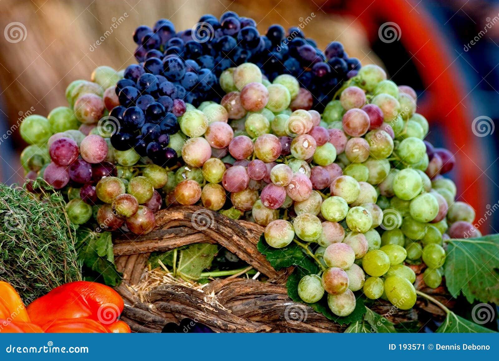 Visualización de la uva