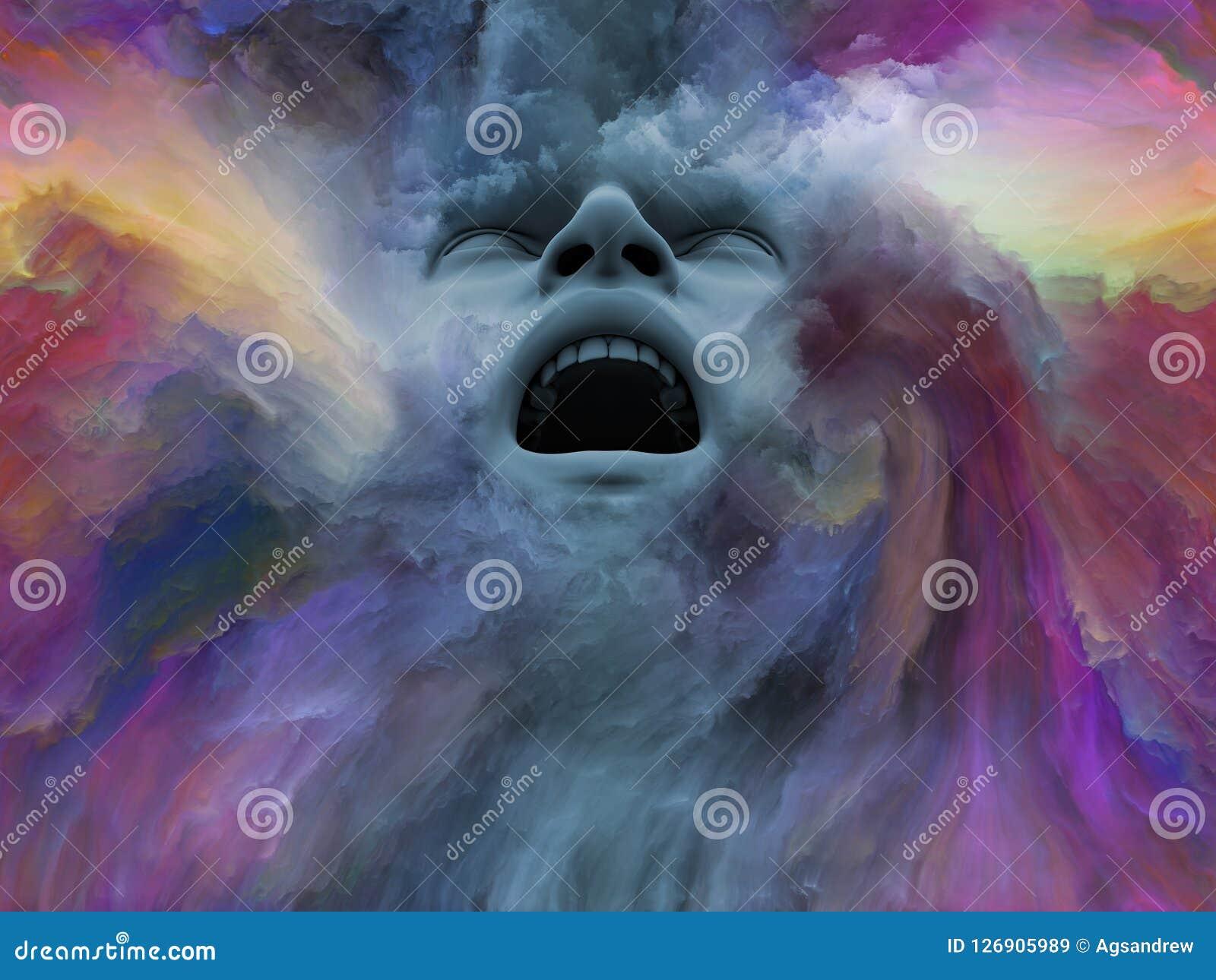 Visualización del sueño pintado