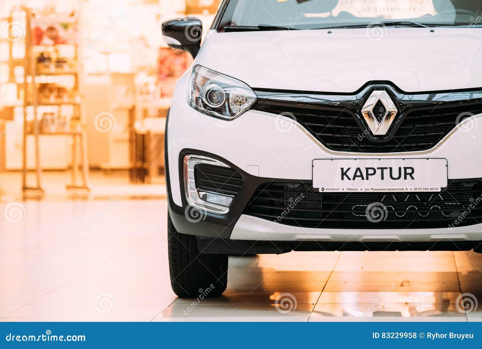 Vit övergång för färgRenault Kaptur Car Is The Subcompact i Hall