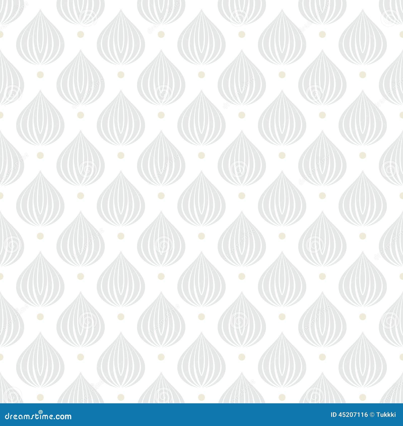 Vit geometrisk textur med droppar