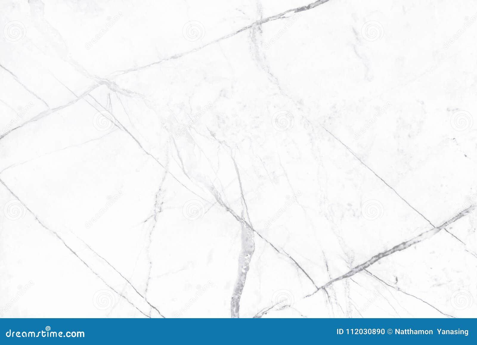 Vit marmortextur i den naturliga modellen, vitt stengolv
