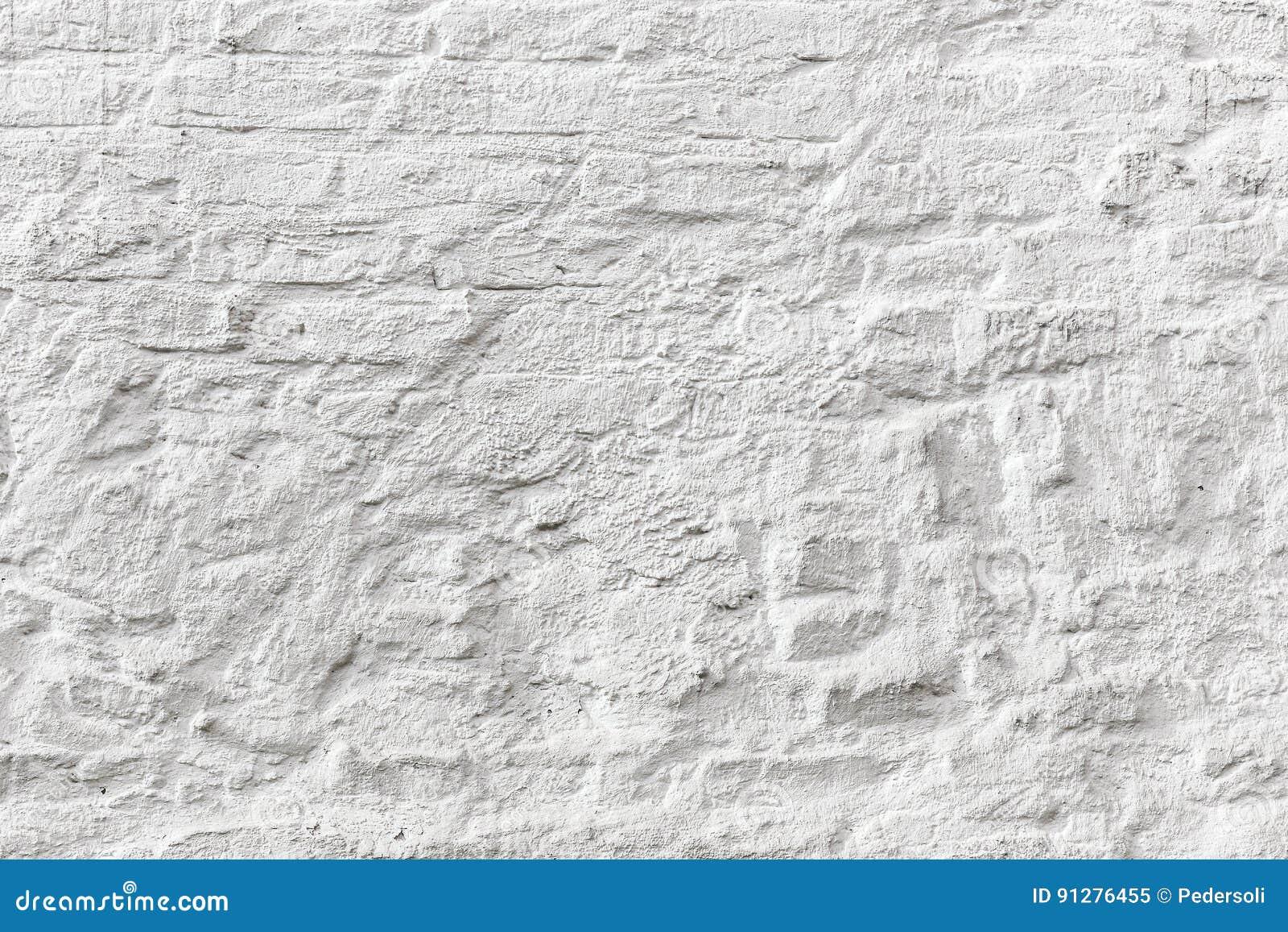 Vit textur för grunge för tegelstenvägg