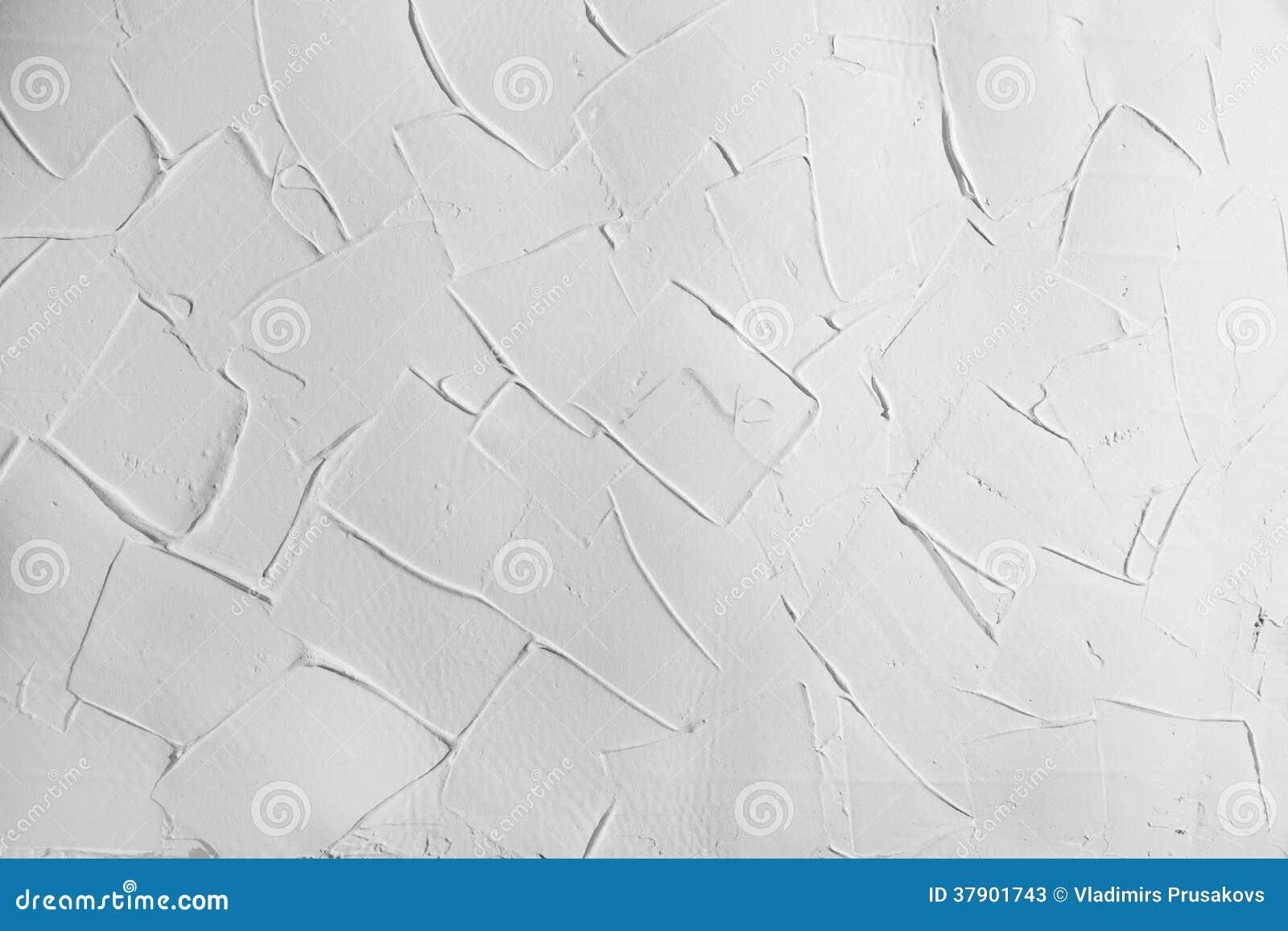 Vit textur för väggstuckaturmurbruk, bakgrund med högra vinklar