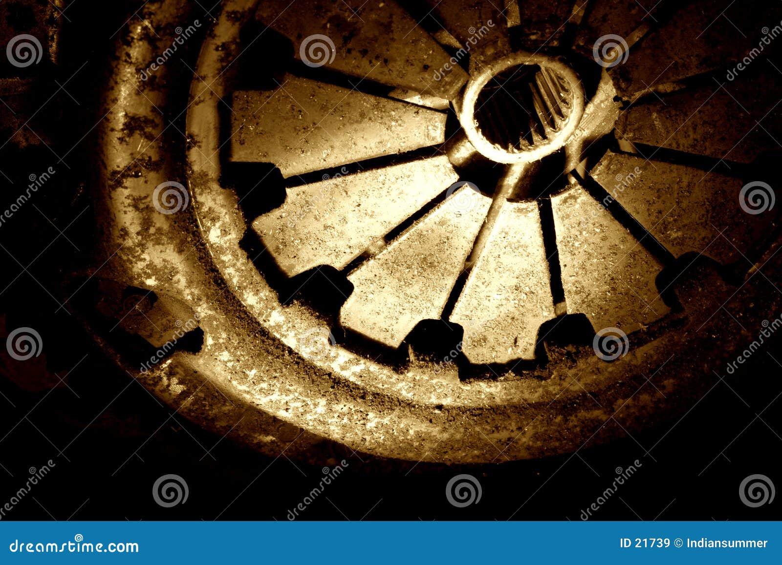 Download Vita arrugginita immagine stock. Immagine di metallo, particolari - 21739