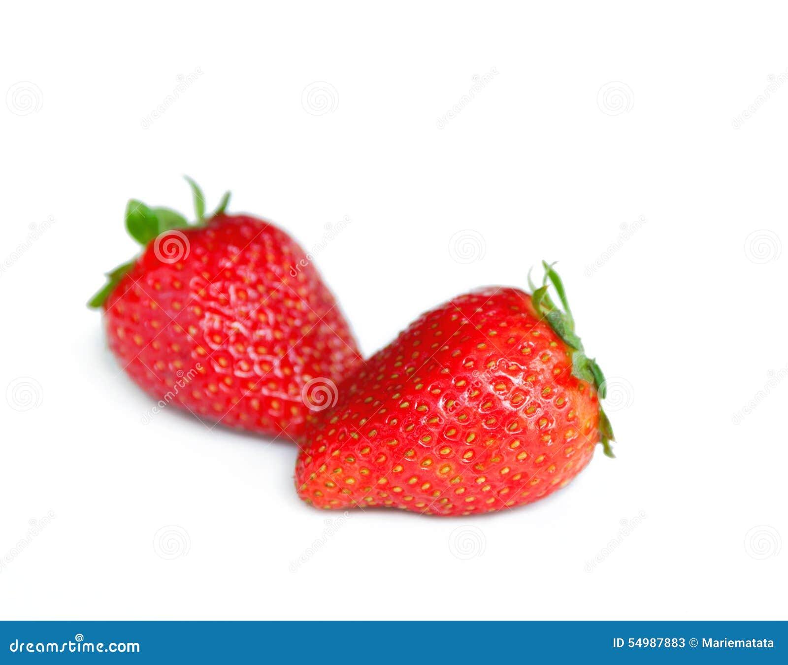 Vita jordgubbar
