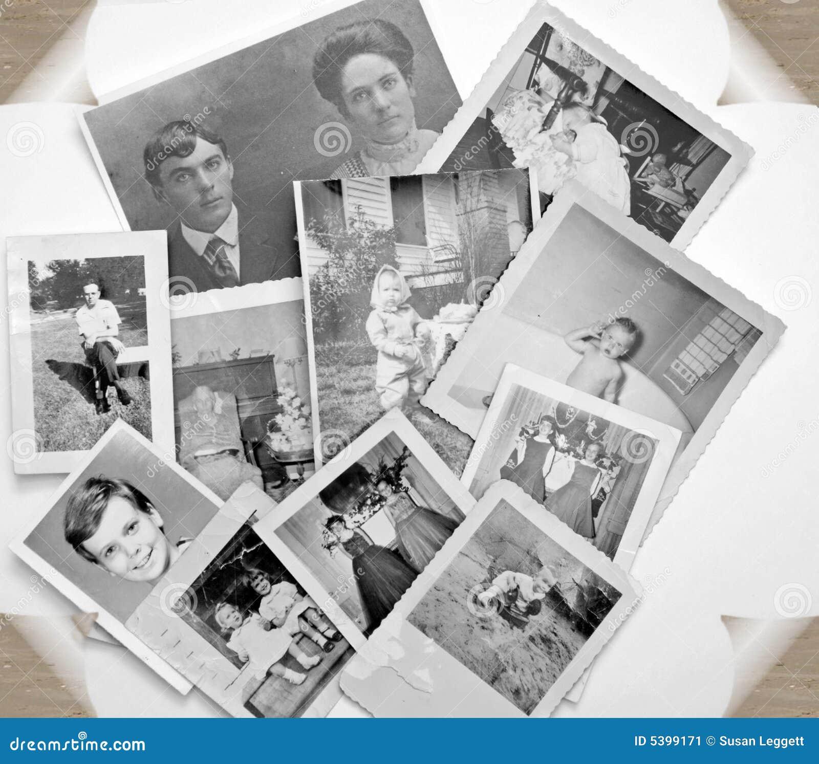 Vita svarta gammala foto