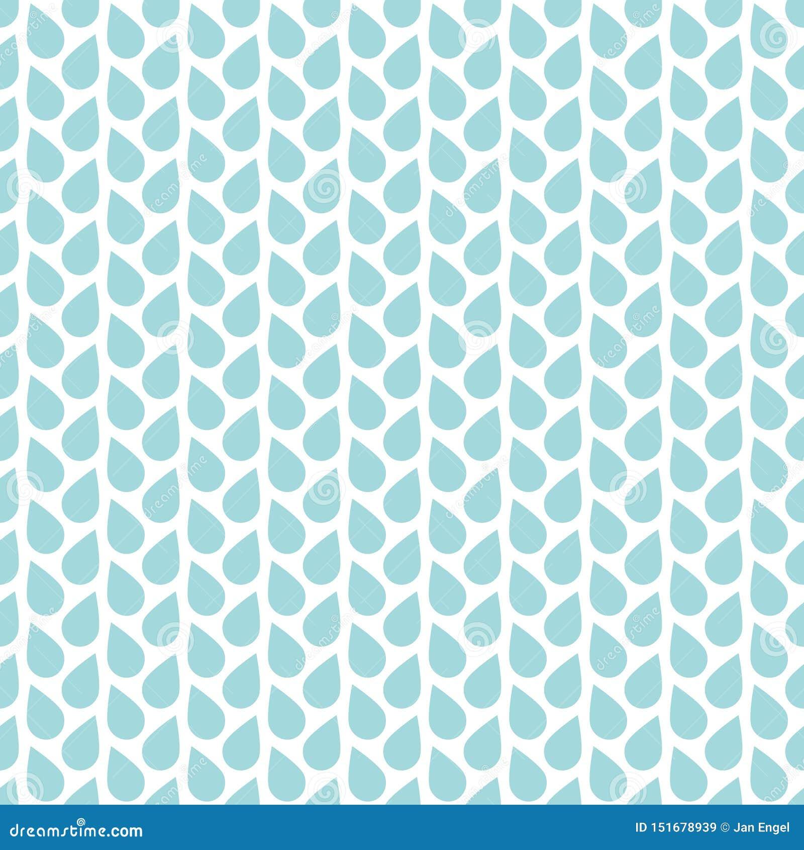 Vita vertikala linjer för sömlösa modellregndroppar som är blåa och
