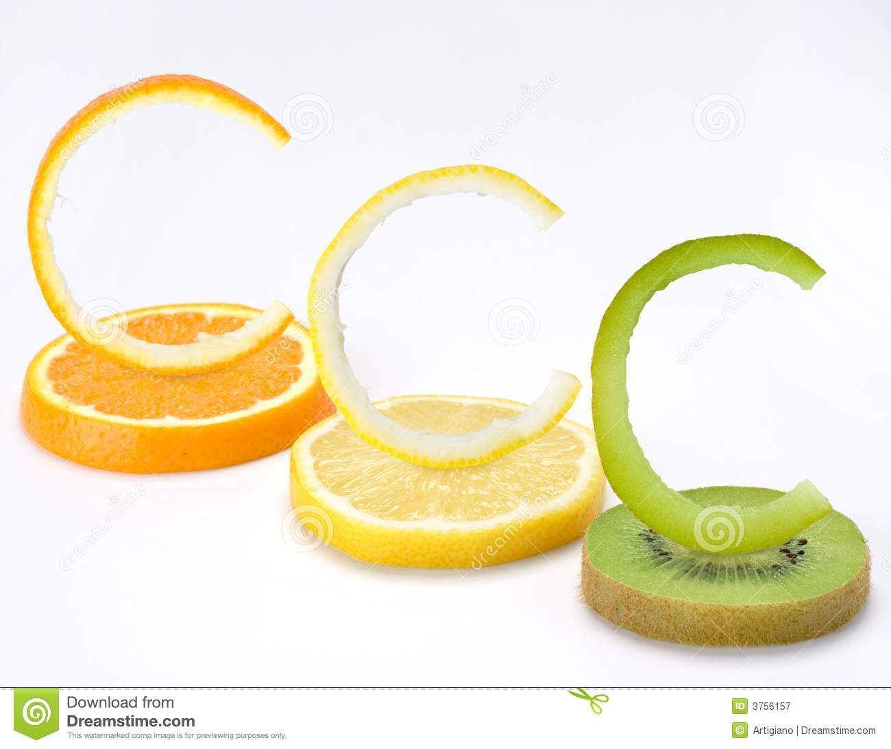 Vitamin C fruits horizontal