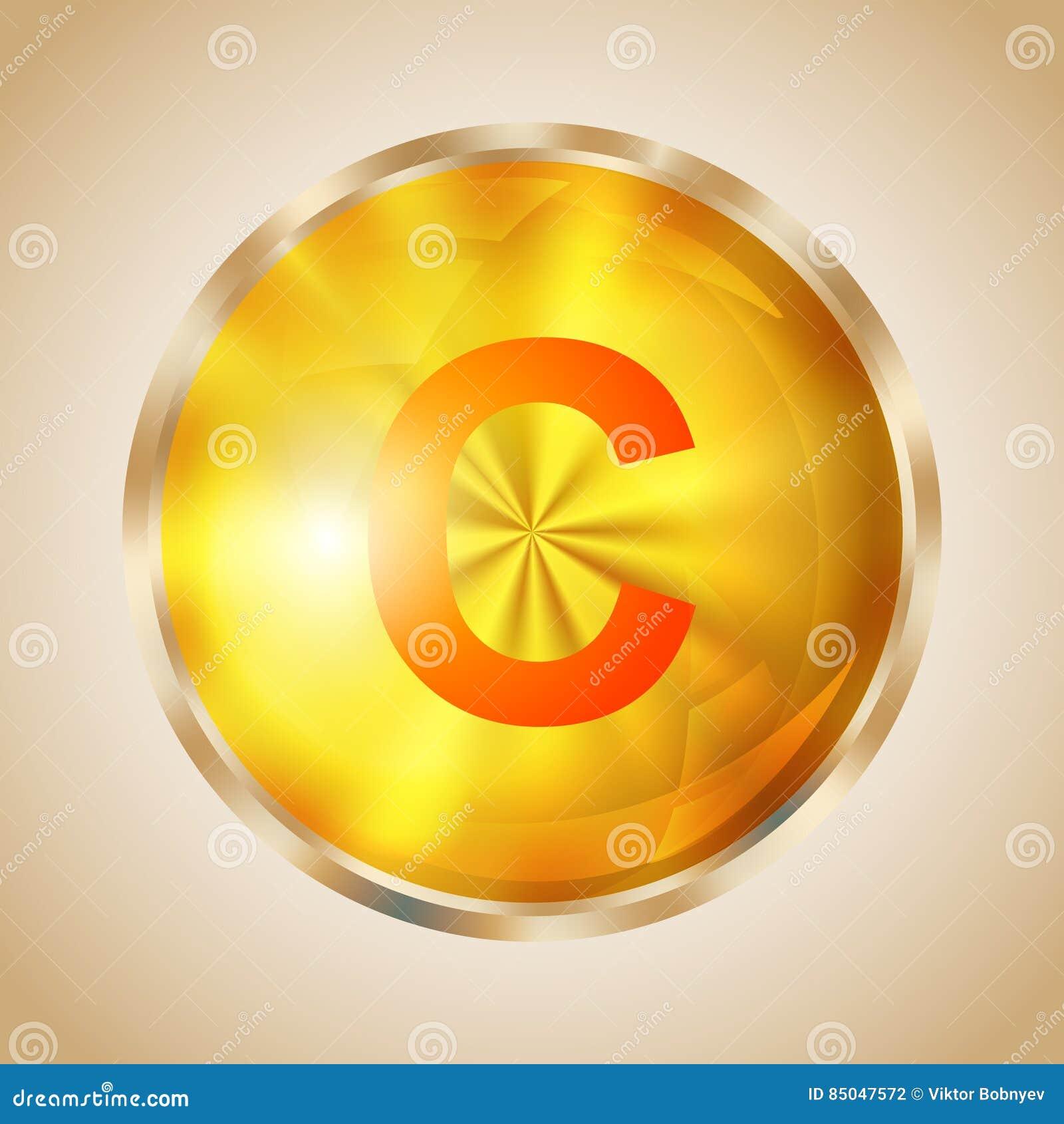 Vitamin C Icon Stock Vector Illustration Of Health Drop 85047572