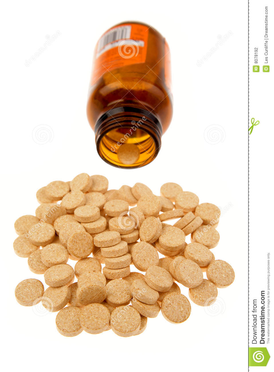 vitamin c tablets stock photography image 8078192