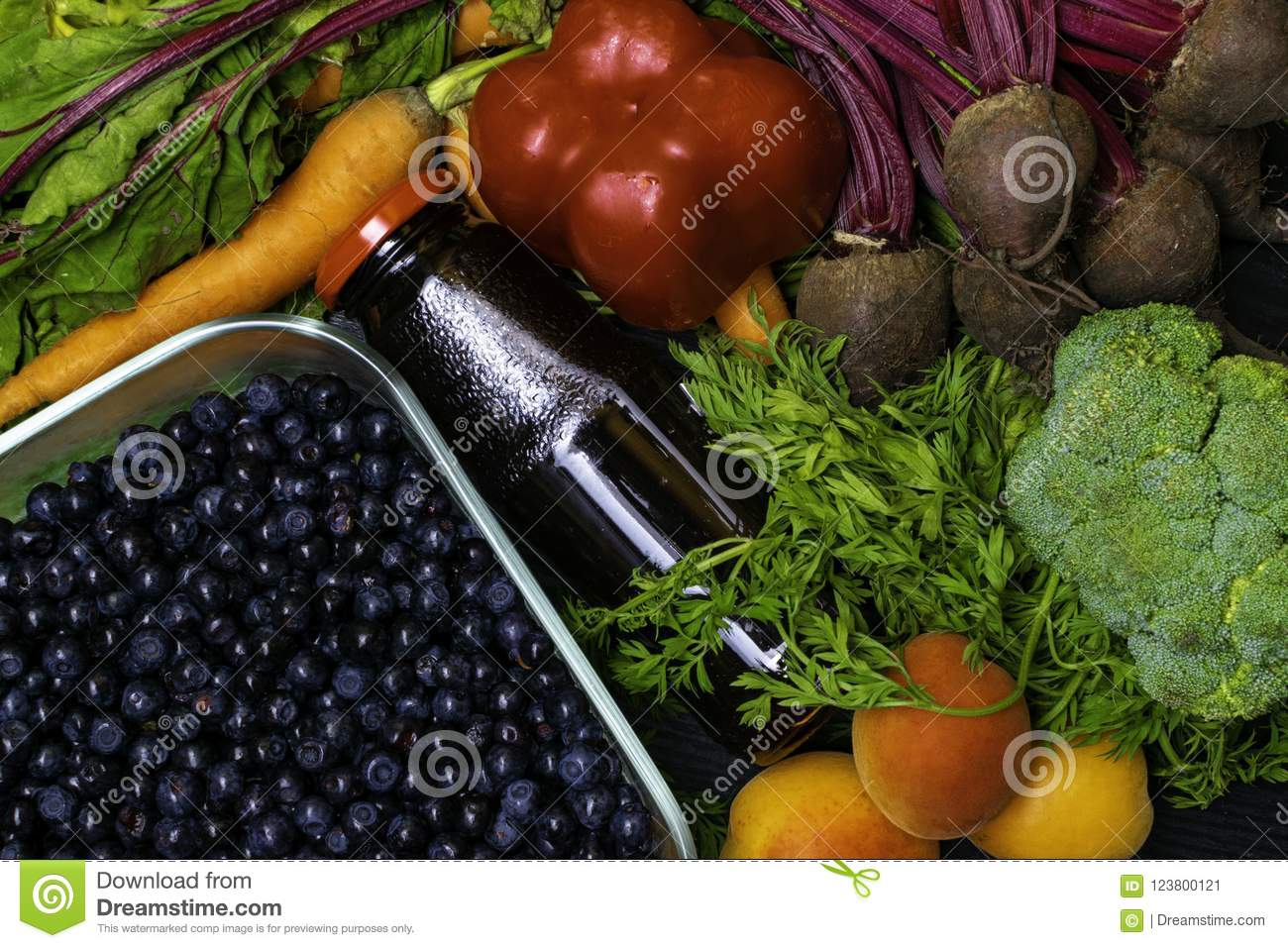 vitamin a in vegetable food carrot beet red pepper apricot