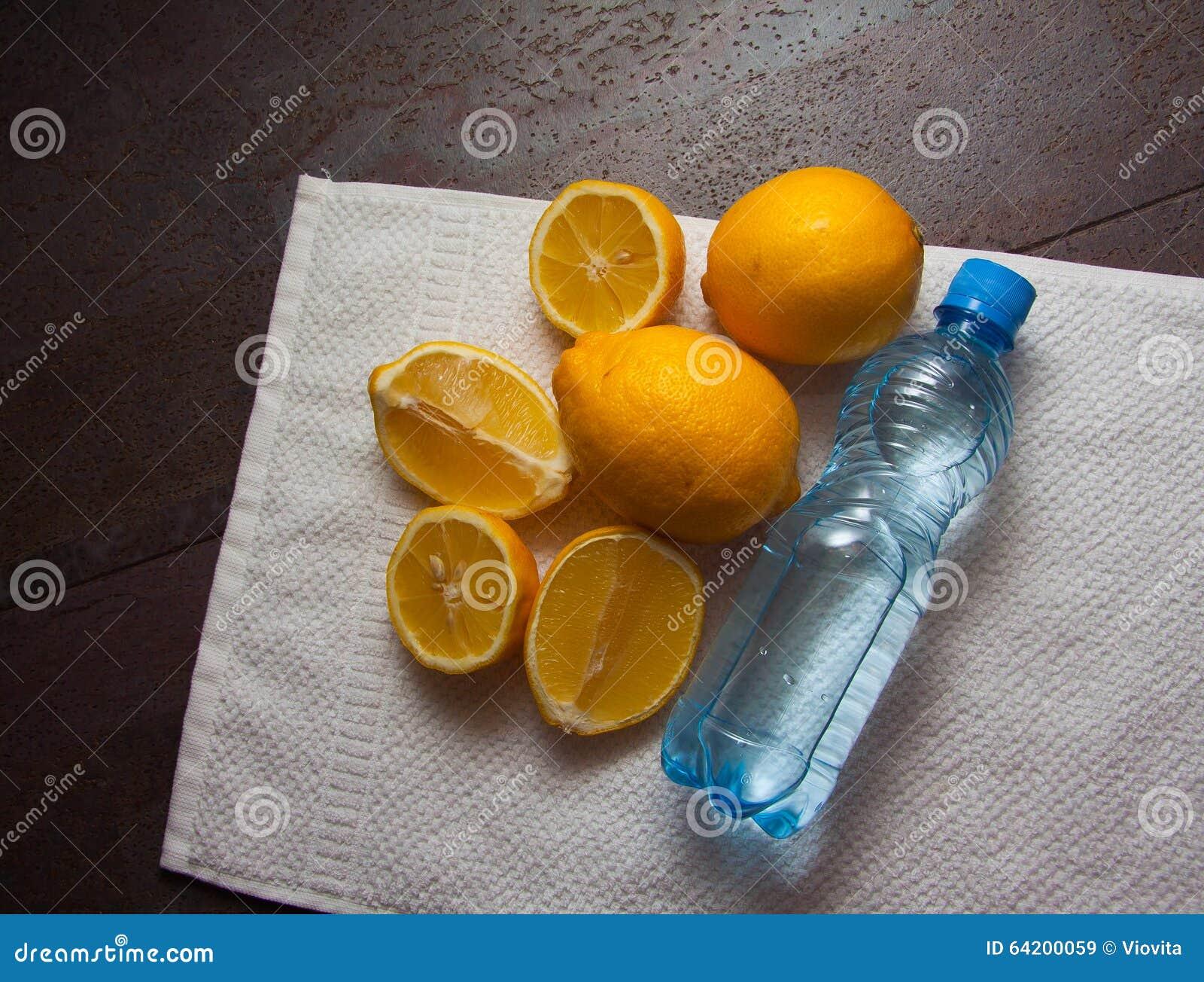 Vitaminas frescas - limones amarillos