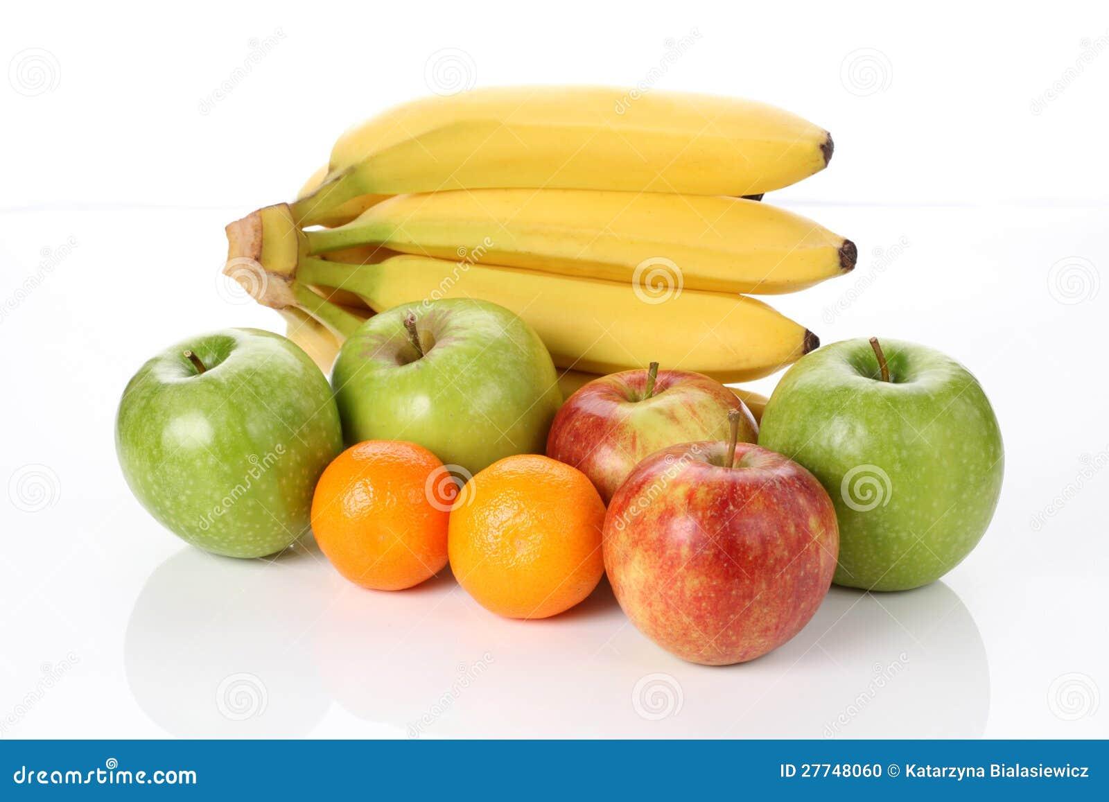 Vitaminas nas frutas