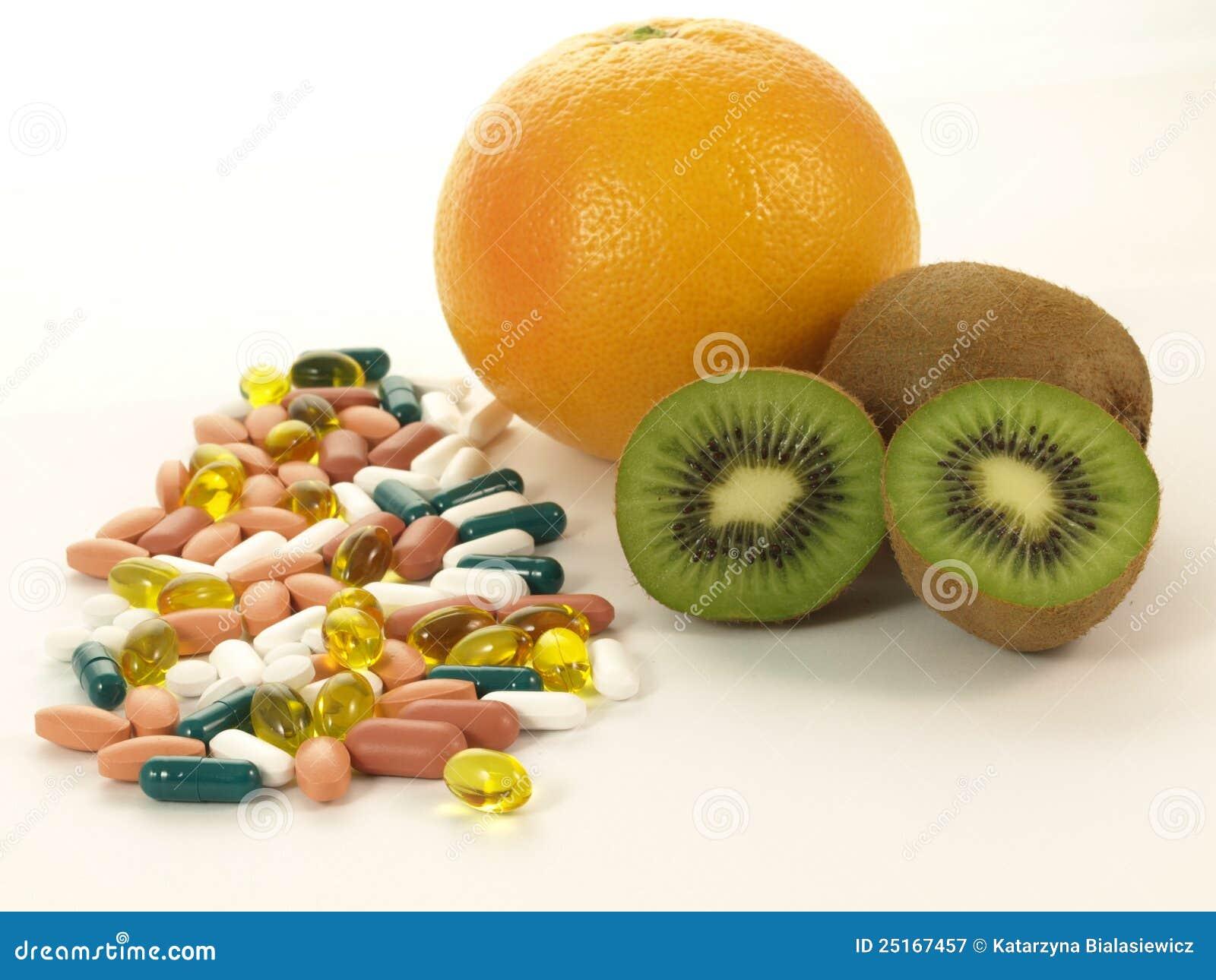 Vitamine, getrennt