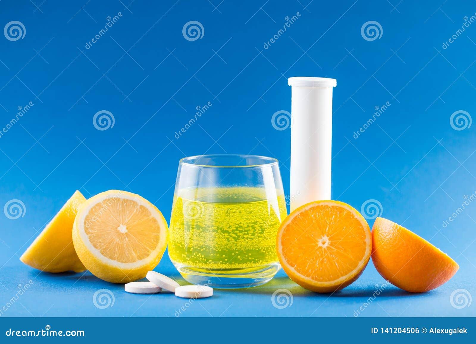 Vitaminen met fruitaroma