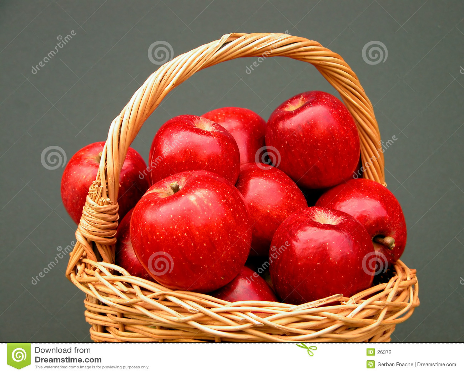 Vitaminkorb - Äpfel