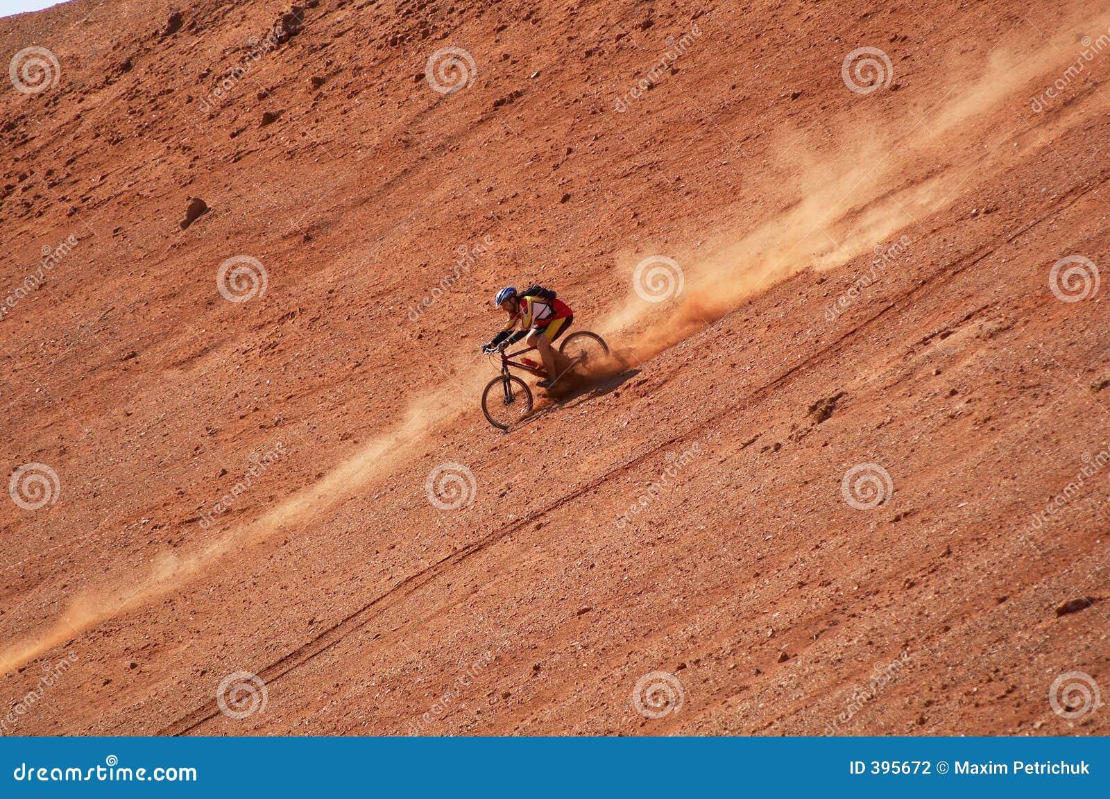 Vitesse 2 de cycliste