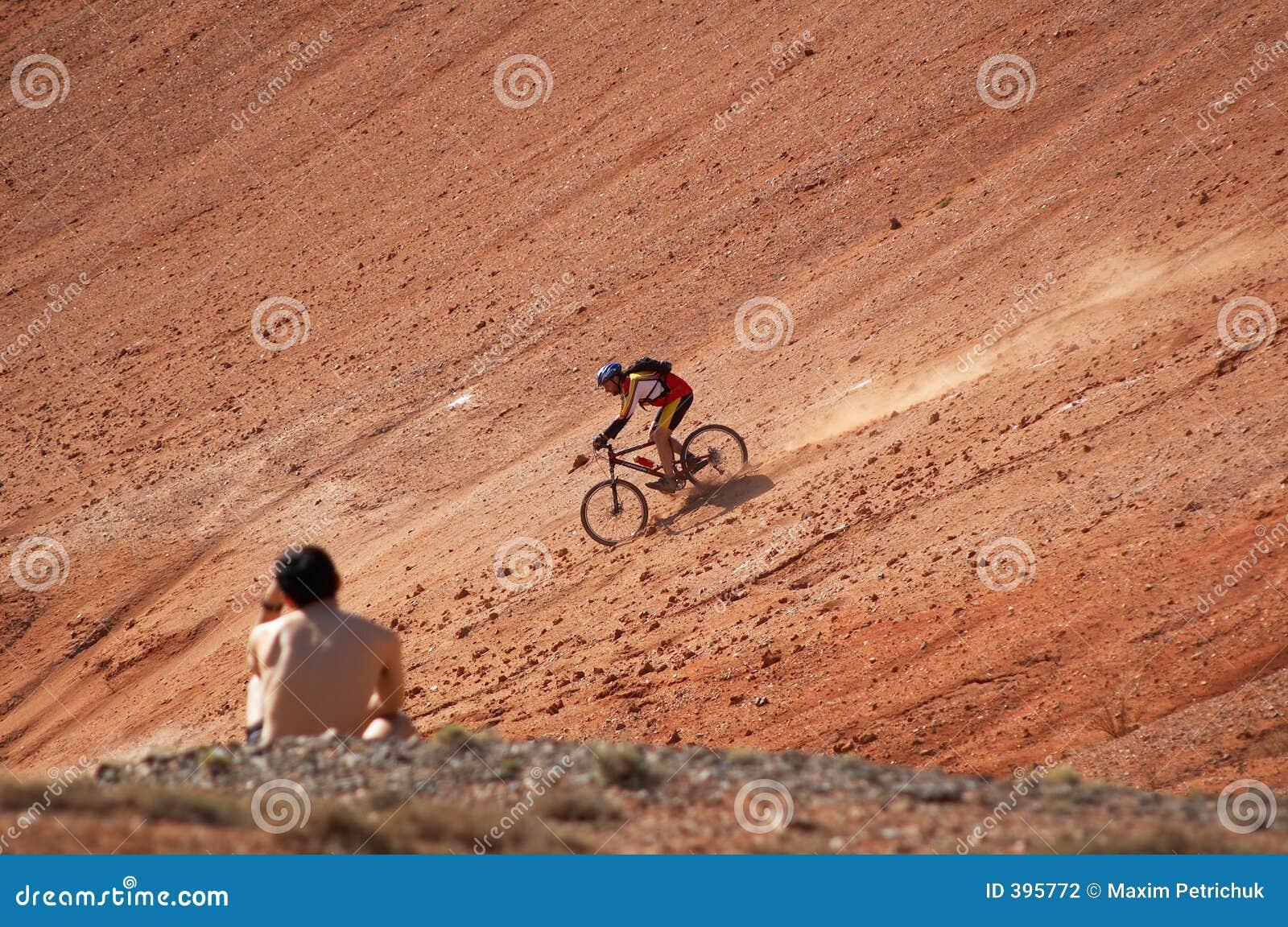 Vitesse 3 de cycliste