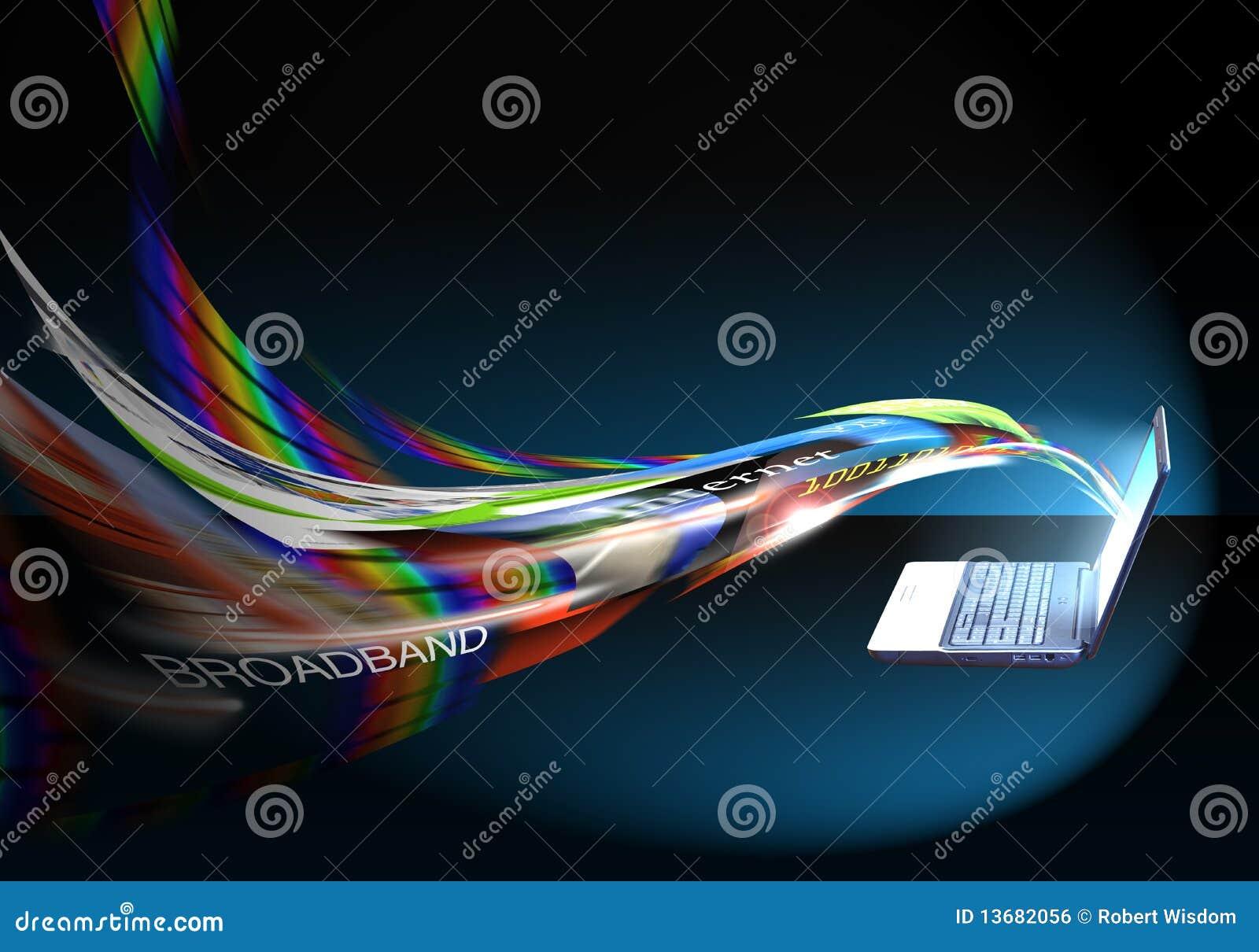 Vitesse/bande large d Internet