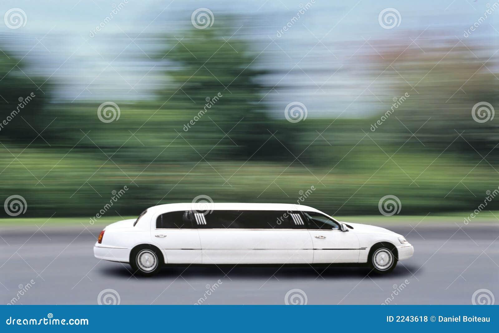 Vitesse de limousine