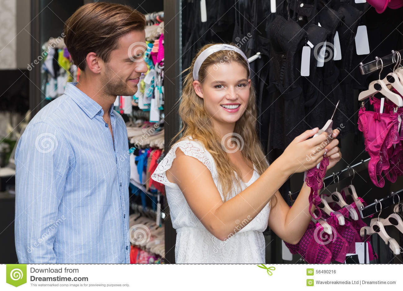 Vitesses de achat de sous-vêtements de couples mignons