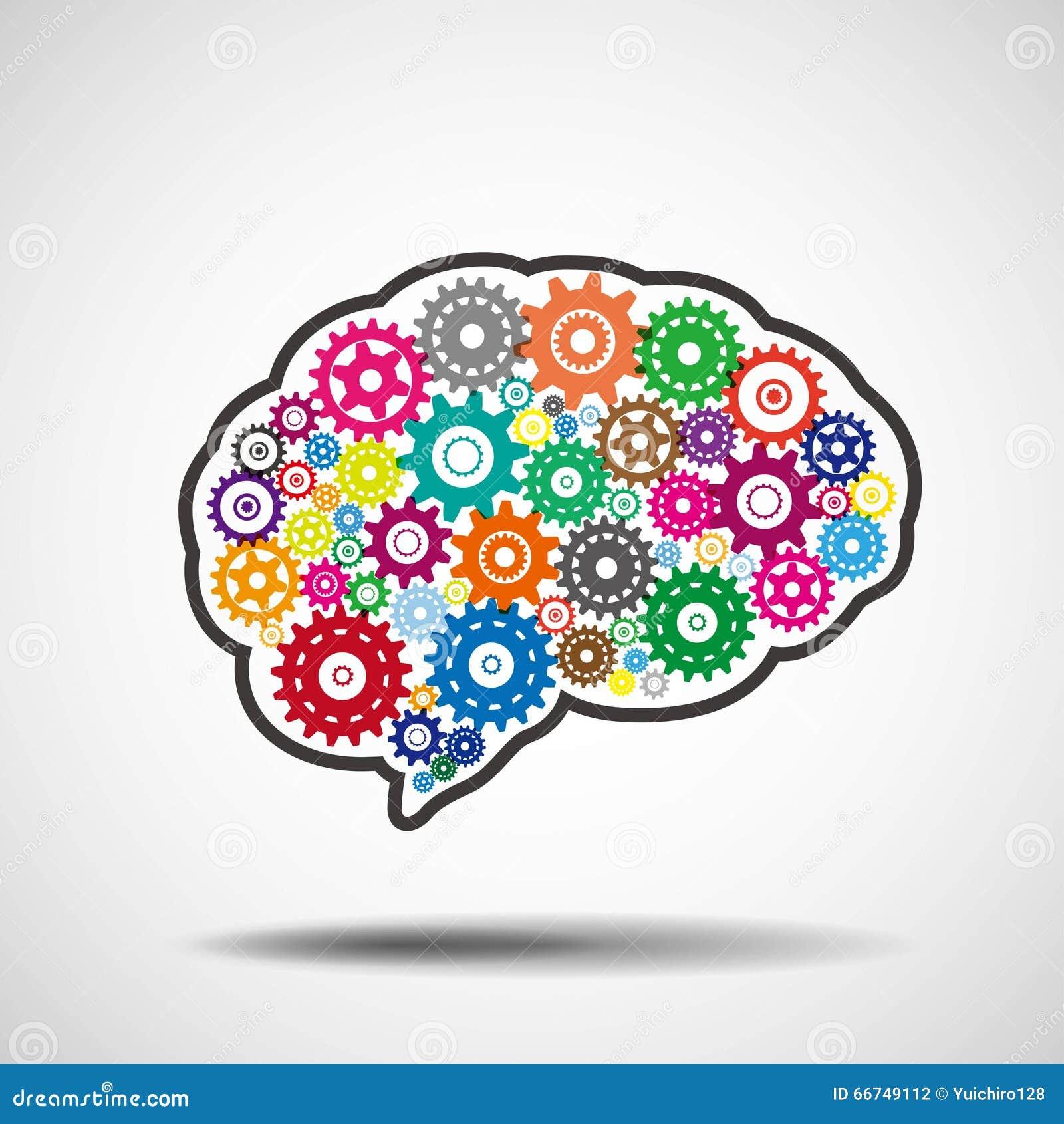 Vitesses de cerveau Concept d intelligence artificielle d AI